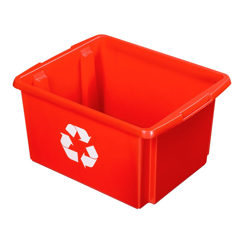 Sunware Nesta eco box - 32 liter - rood