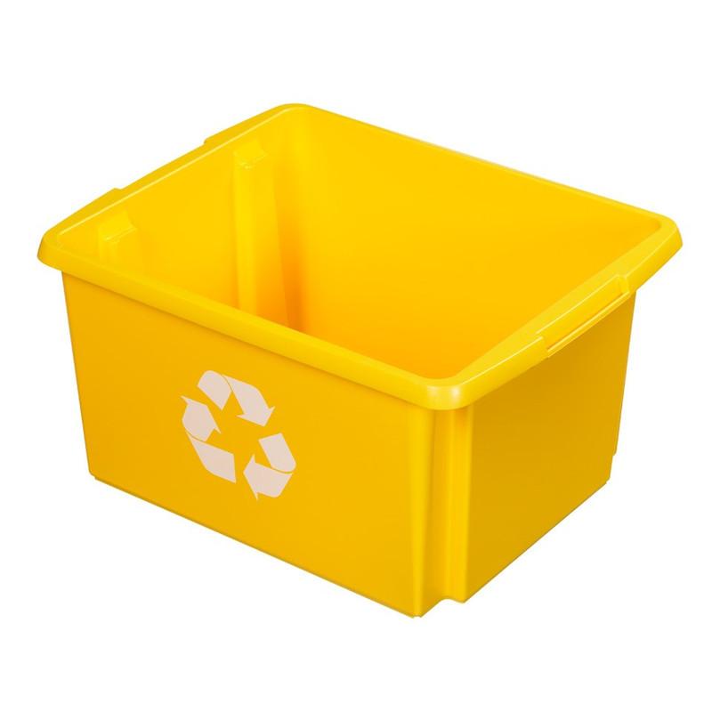 Sunware Nesta eco box - 32 liter - geel