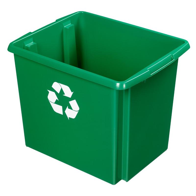 Sunware Nesta recycle box - 45 liter - groen