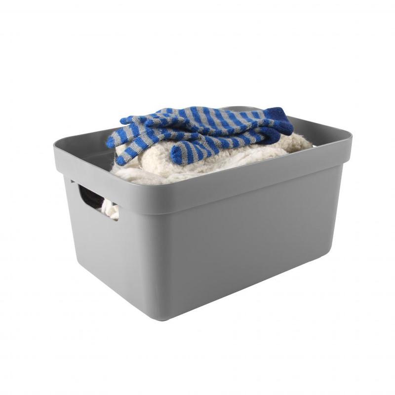 Sunware opbergbox Sigma home - 13 liter - licht grijs