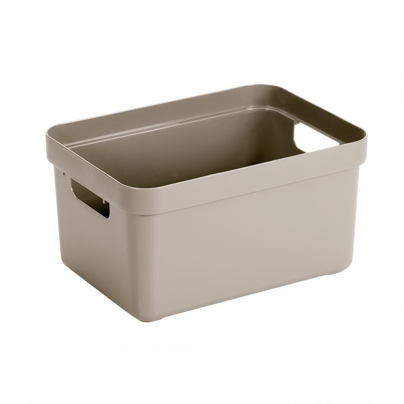Sunware opbergbox Sigma home - 13 liter - beige