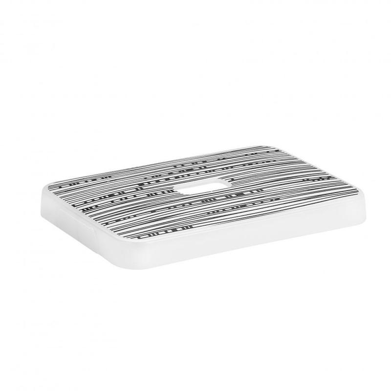 Sunware deksel voor Sigma home opbergbox 13 liter - print