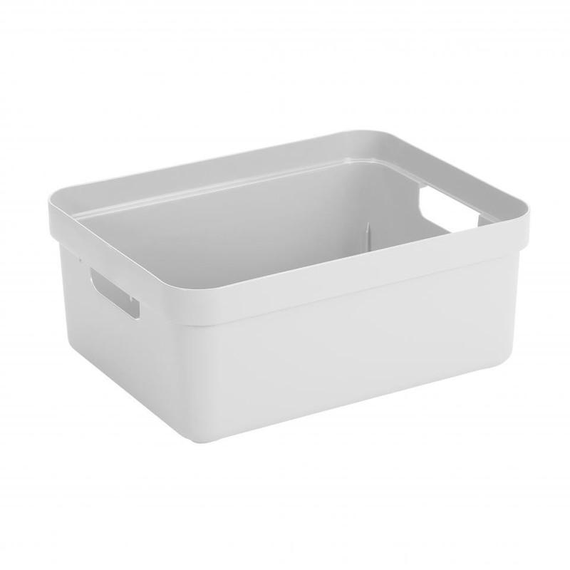 Sunware opbergbox Sigma home - 24 liter - wit