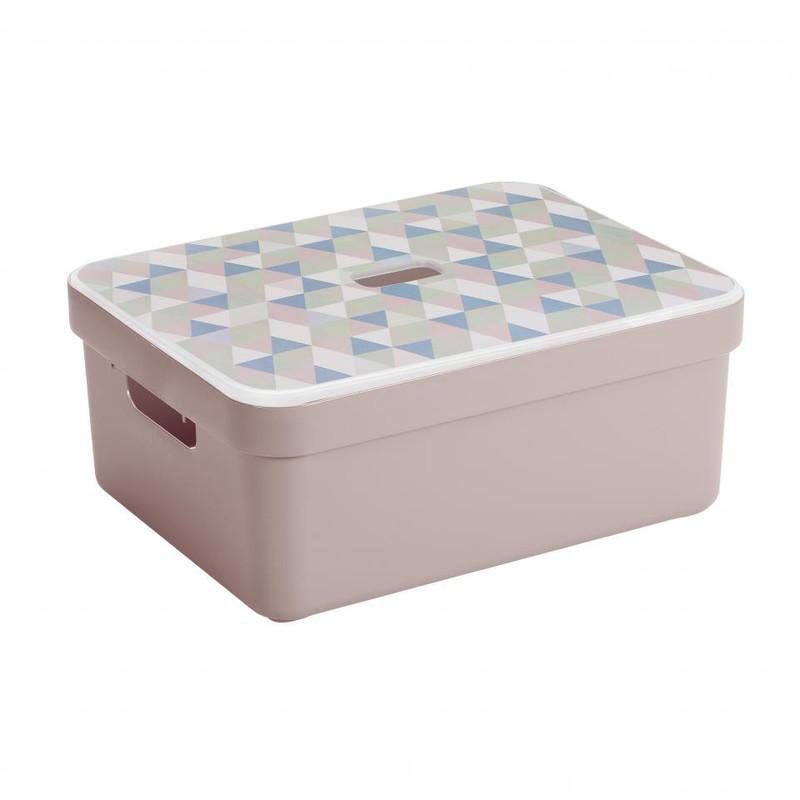 Sunware opbergbox Sigma home - 24 liter - roze
