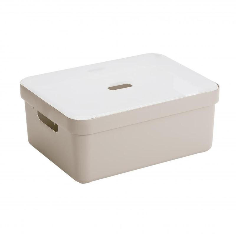 Sunware opbergbox Sigma home - 24 liter - beige