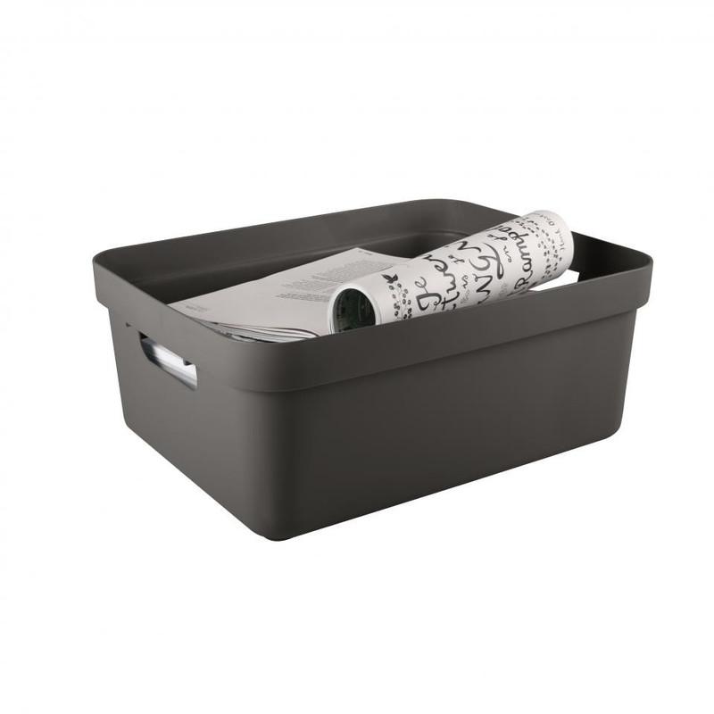 Sunware opbergbox Sigma home - 24 liter - taupe