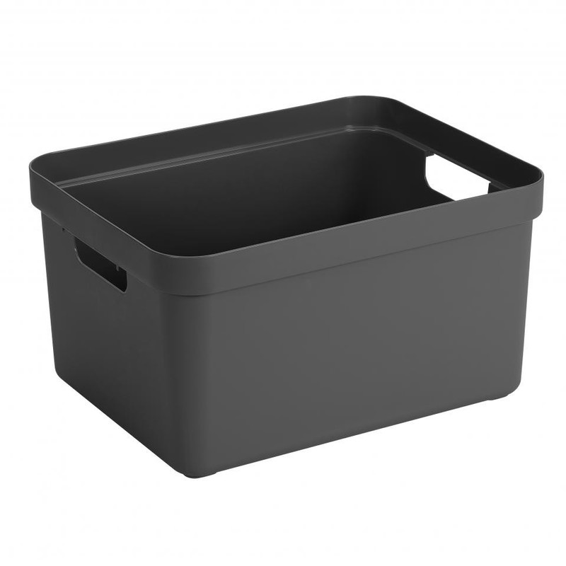 Sunware opbergbox Sigma home - 32 liter - antraciet