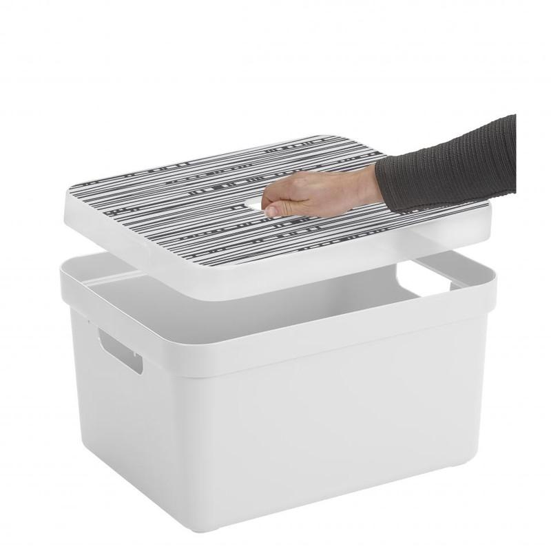 Sunware opbergbox Sigma home - 32 liter - wit