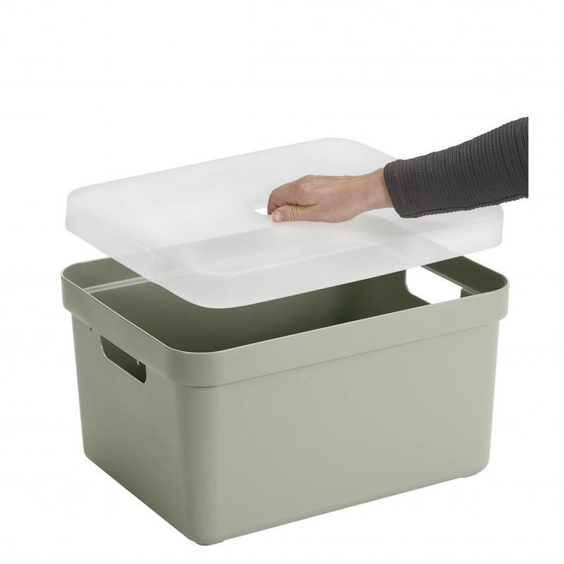 Sunware opbergbox Sigma home - 32 liter - licht groen