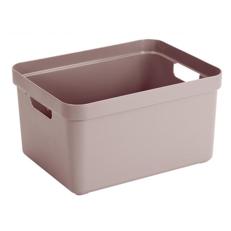 Sunware opbergbox Sigma home - 32 liter - roze