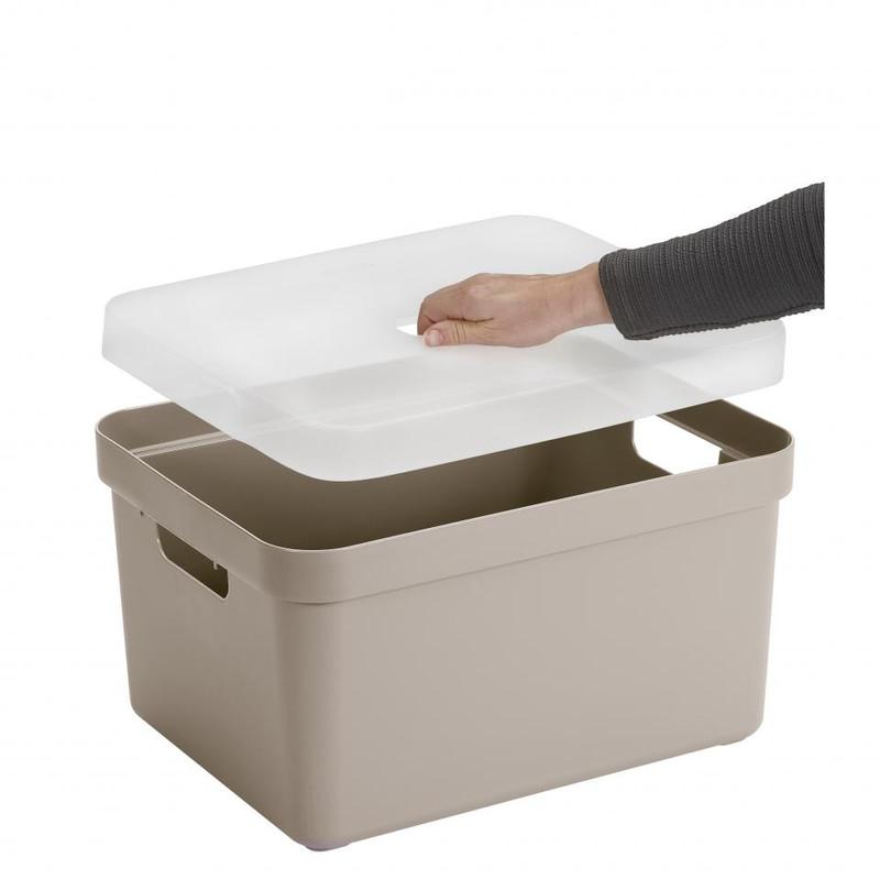 Sunware opbergbox Sigma home - 32 liter - beige
