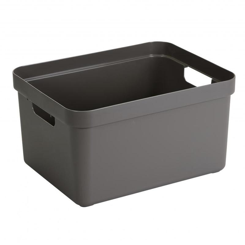 Sunware opbergbox Sigma home - 32 liter - taupe