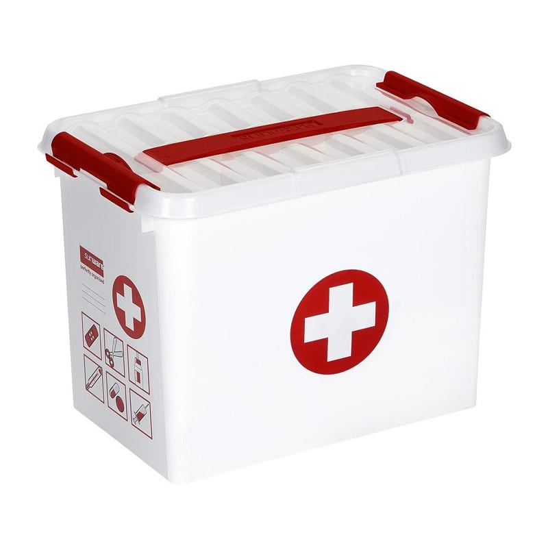 Sunware Q-line EHBO opbergbox - 9 liter