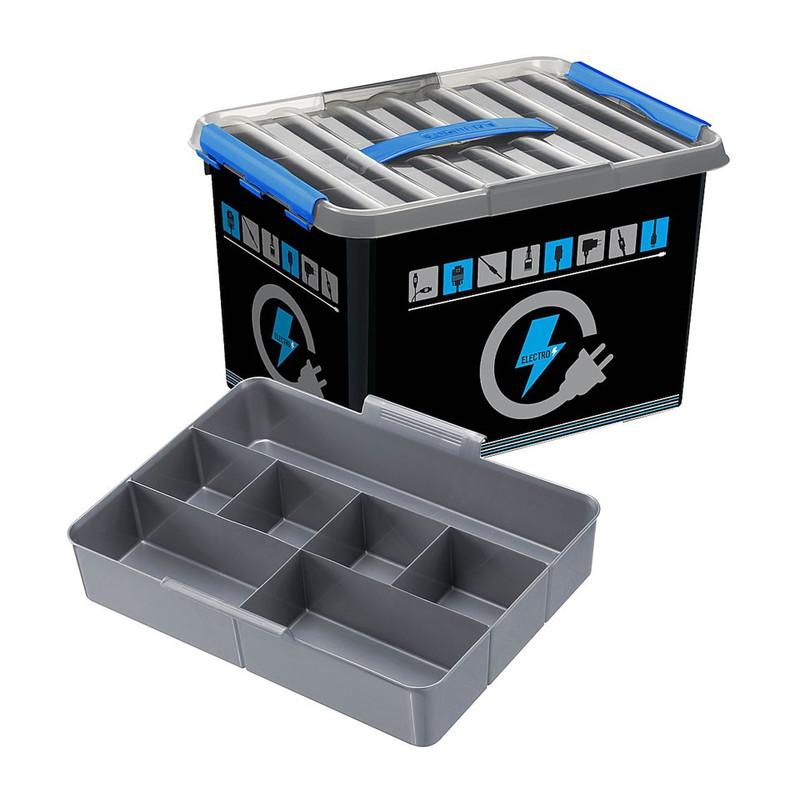 Sunware Q-line electra box - 22 liter