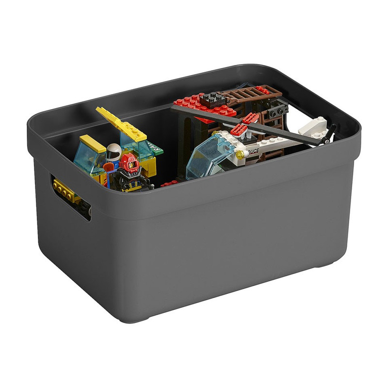 Sunware opbergbox Sigma home - 5 liter - antraciet