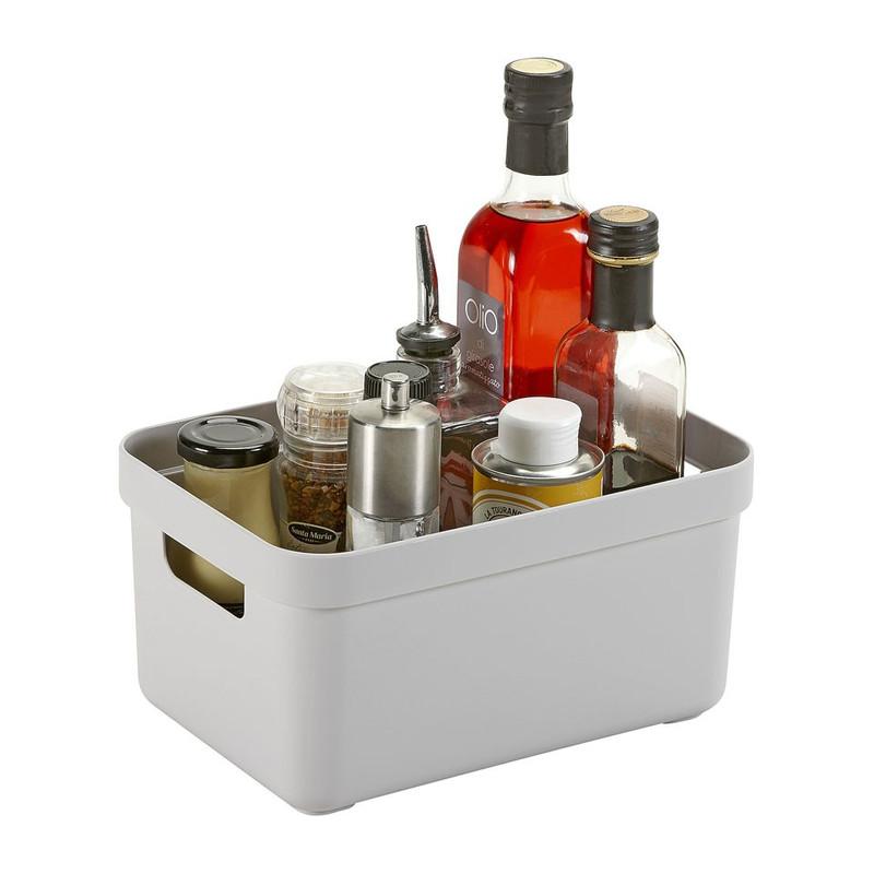 Sunware opbergbox Sigma home - 5 liter - lichtgrijs