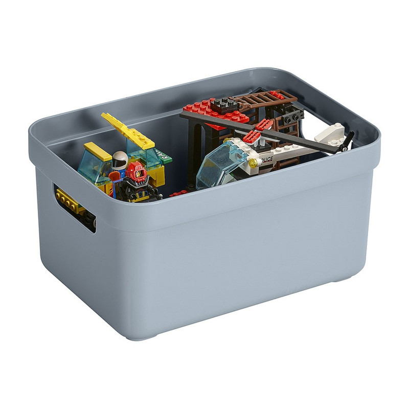 Sunware opbergbox Sigma home - 5 liter - blauwgrijs