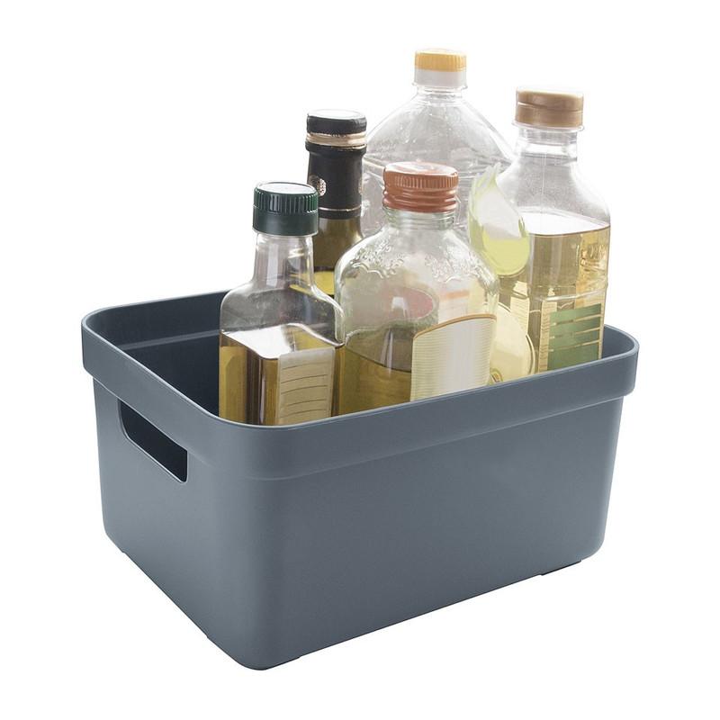 Sunware opbergbox Sigma home - 5 liter - donkerblauwgrijs