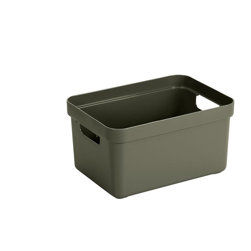 Sunware opbergbox Sigma home - 5 liter - donkergroen