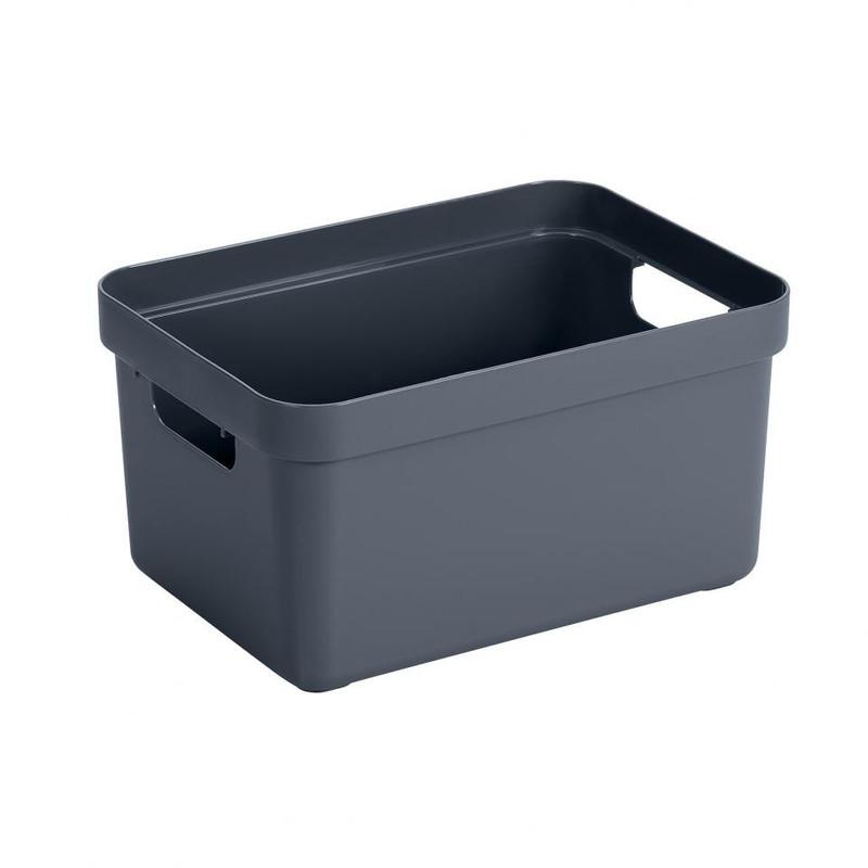 Sunware opbergbox Sigma home - 13 liter - donkergroen