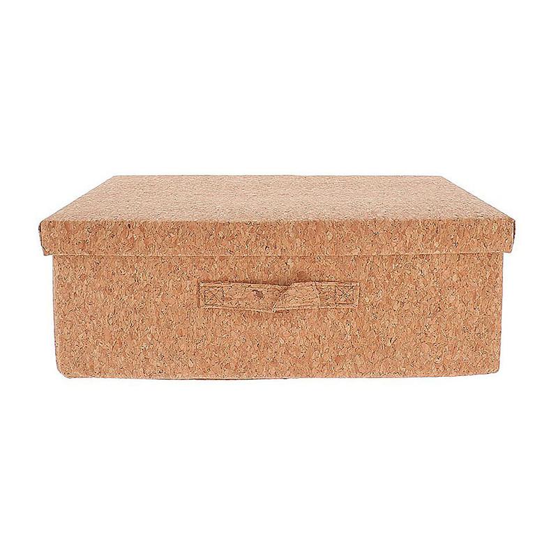 Compactor opvouwbare box kurk - 38x26x13 cm