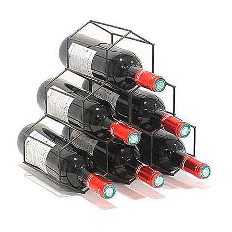 Compactor wijnrek - koper