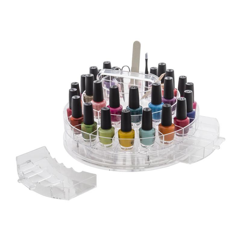 Compactor nagelstudio voor nagellak - 30 compartimenten