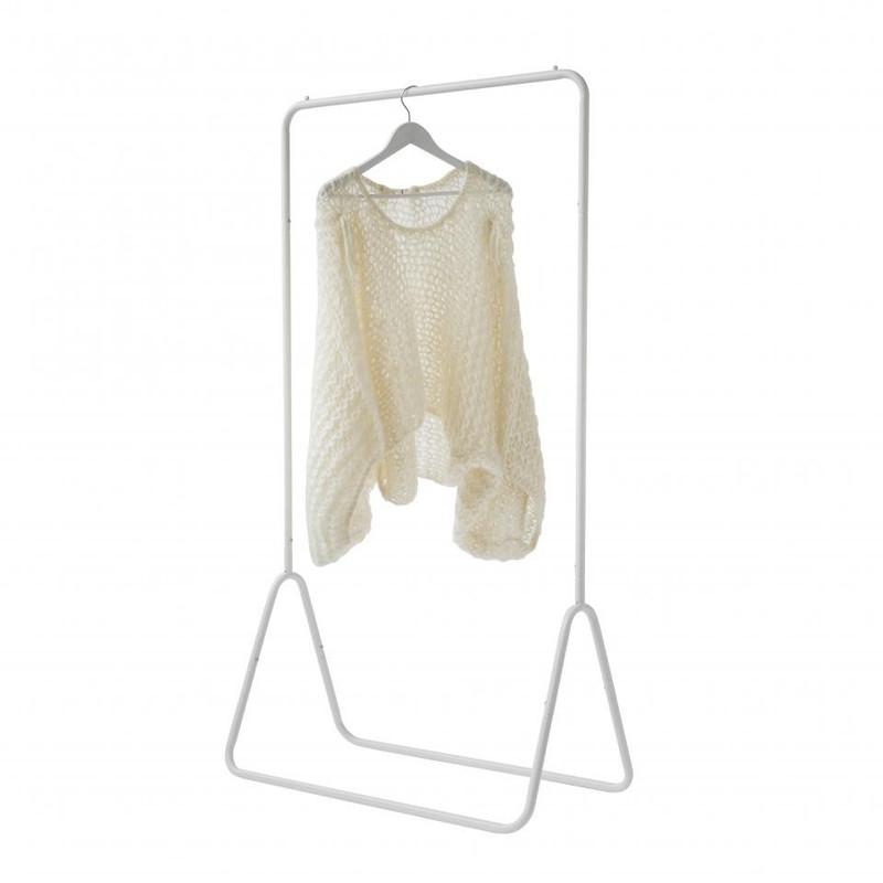 Compactor Fyn kledingrek - wit