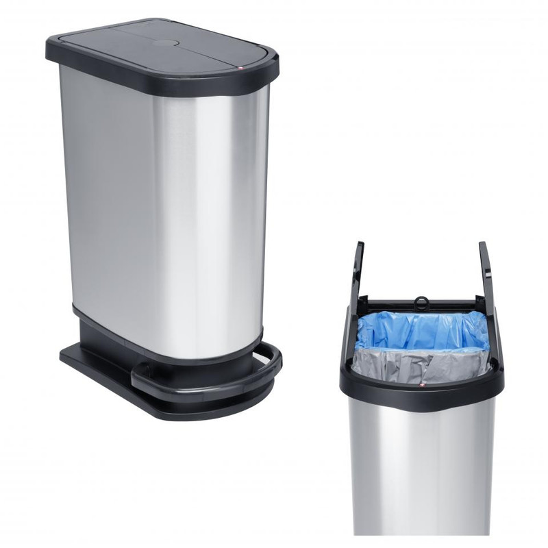 Rotho pedaalemmer Paso mono/duo - 50 liter