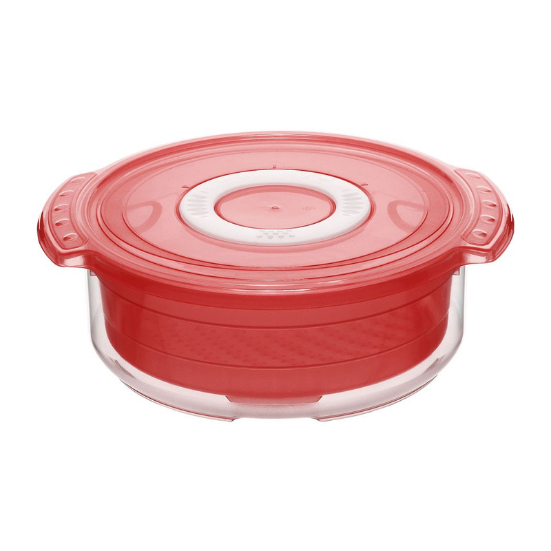 Rotho magnetron-steamer clever - 1.4 liter - rood