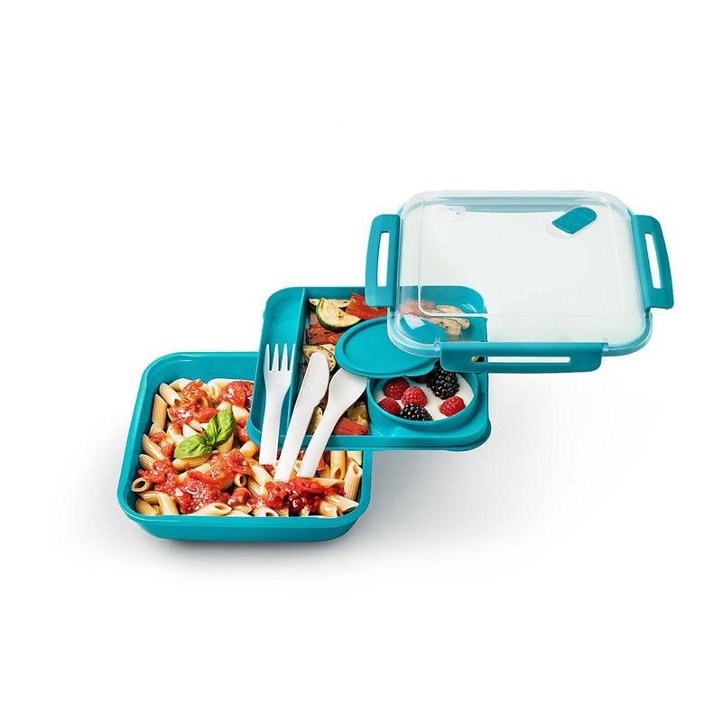 Lunchbox - 1.1 liter - blauw