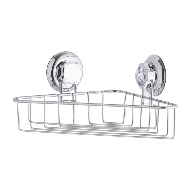 Compactor Bestlock badkamerrek hoek met zuignap