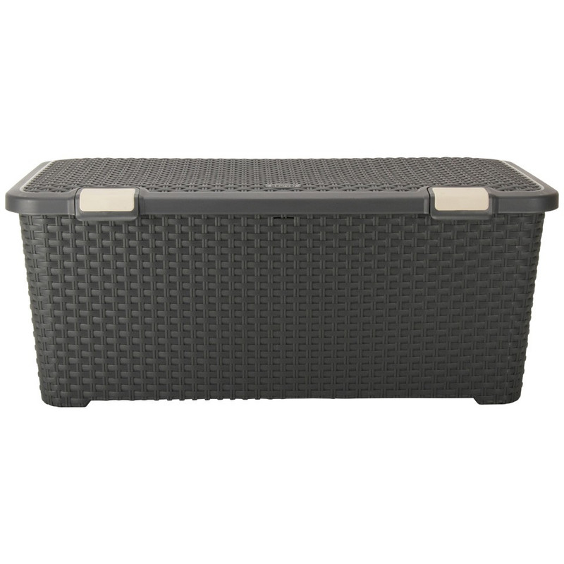 Curver style trunk - 72 liter - antraciet