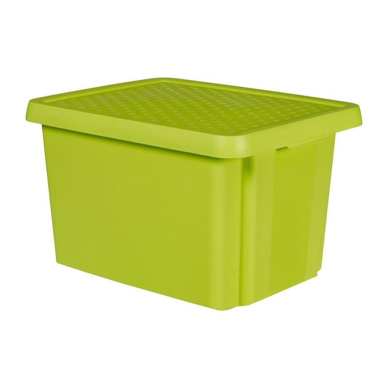 Curver essentials opbergbox - 26 liter - groen