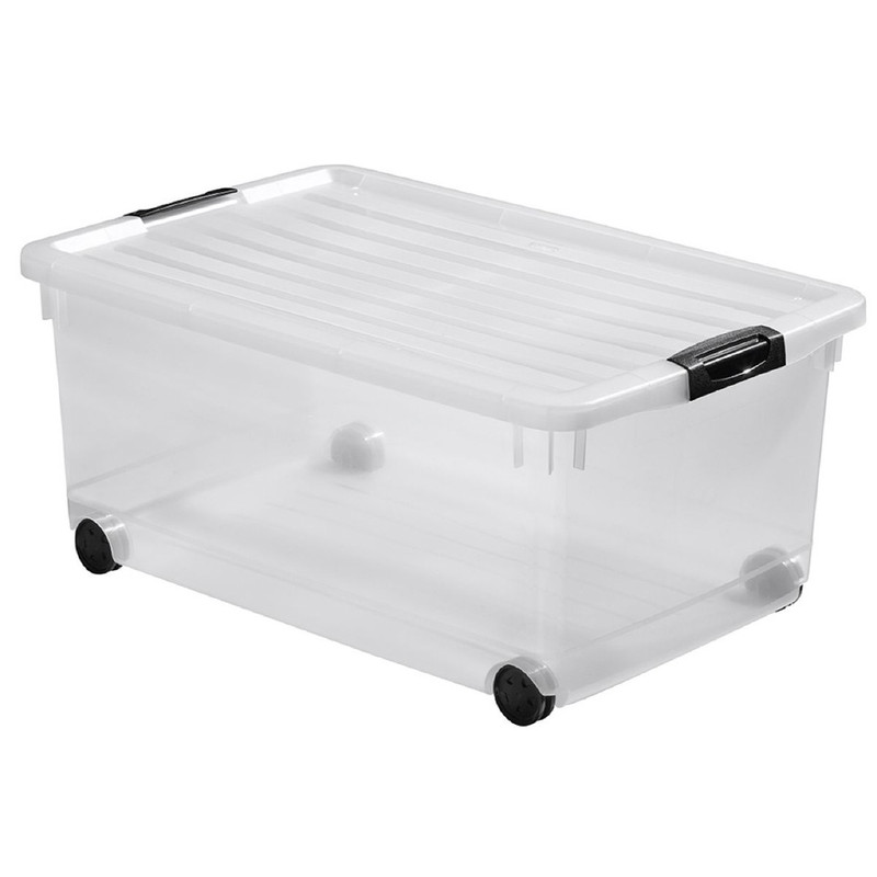 Curver click'n fit multiboxx - 45 liter - transparant