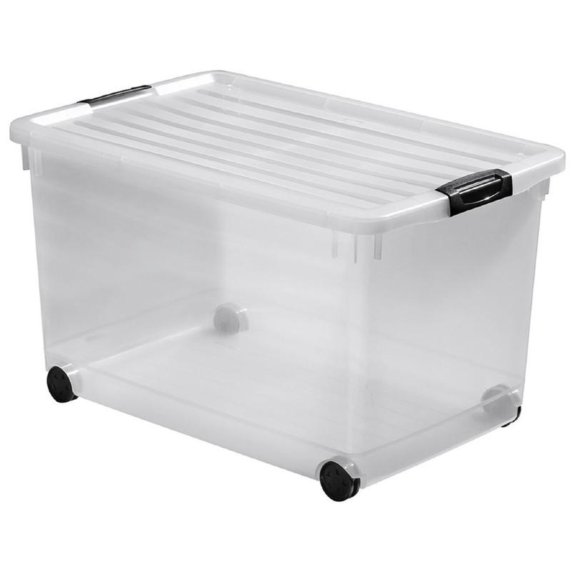 Curver click'n fit multiboxx - 60 liter - transparant