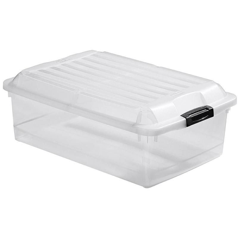 Curver jumbo multiboxx - 40 liter - transparant