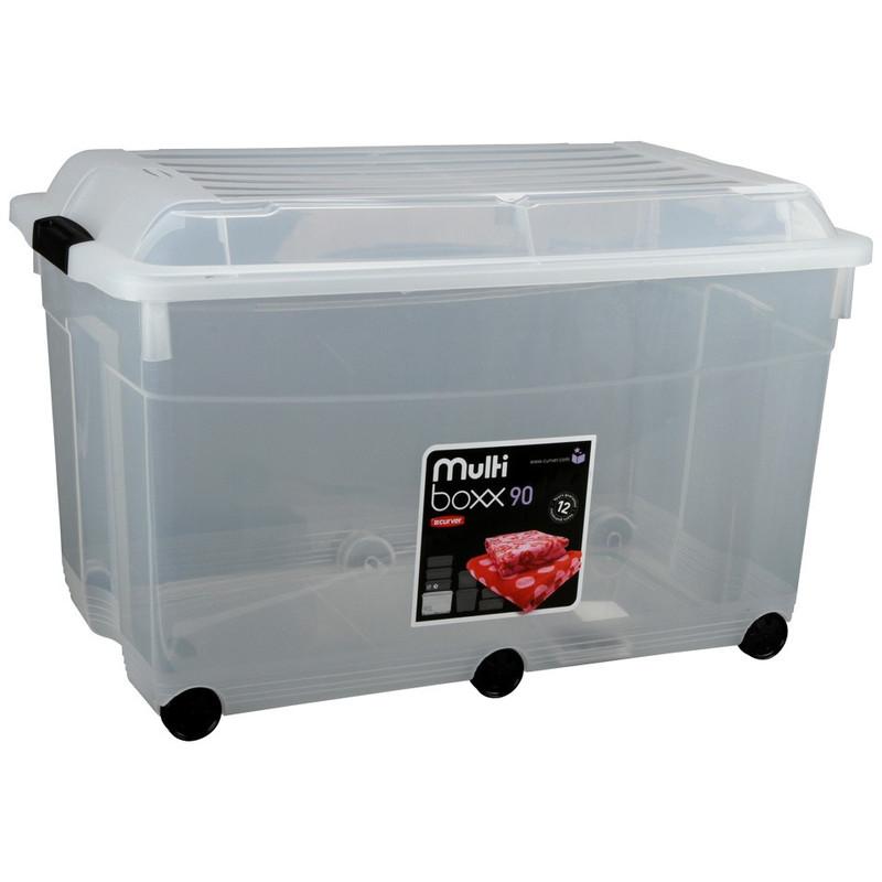 Curver Multiboxx Opbergbox 90 liter Transparant