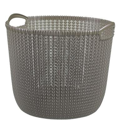 Curver knit mand - 30 liter - harvest brown