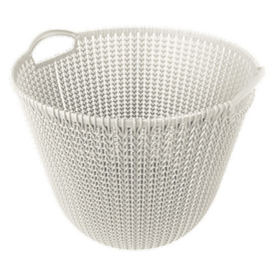 Curver knit mand - 30 liter - oasis white