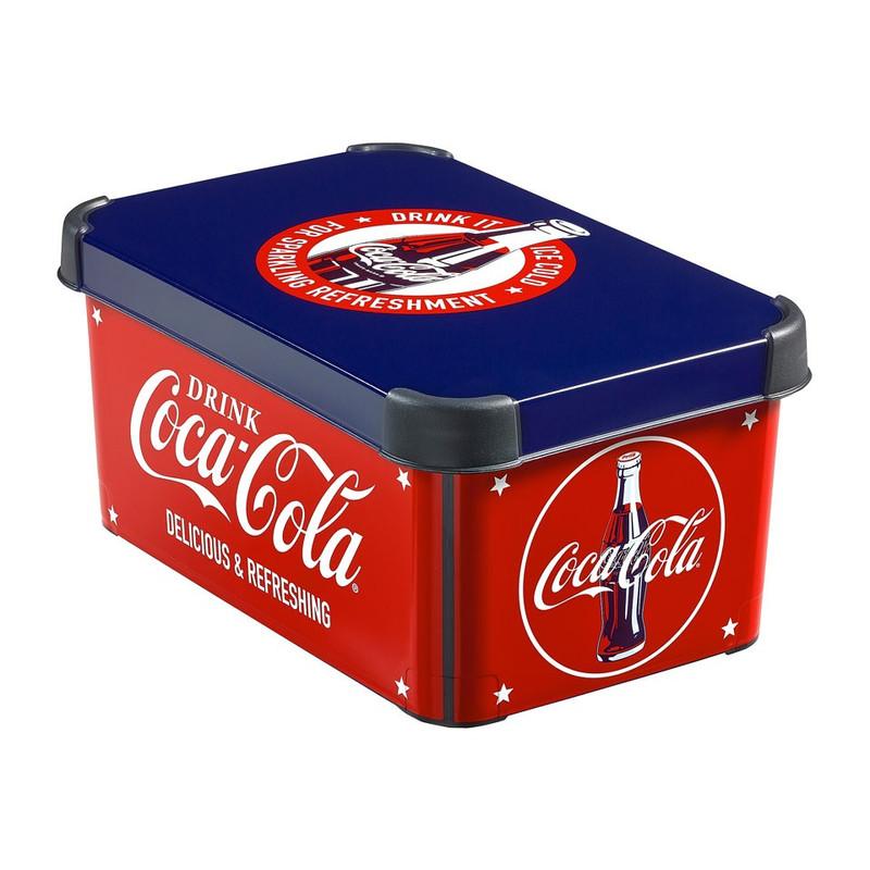 Curver Stockholm decobox S - 6 liter - Coca Cola