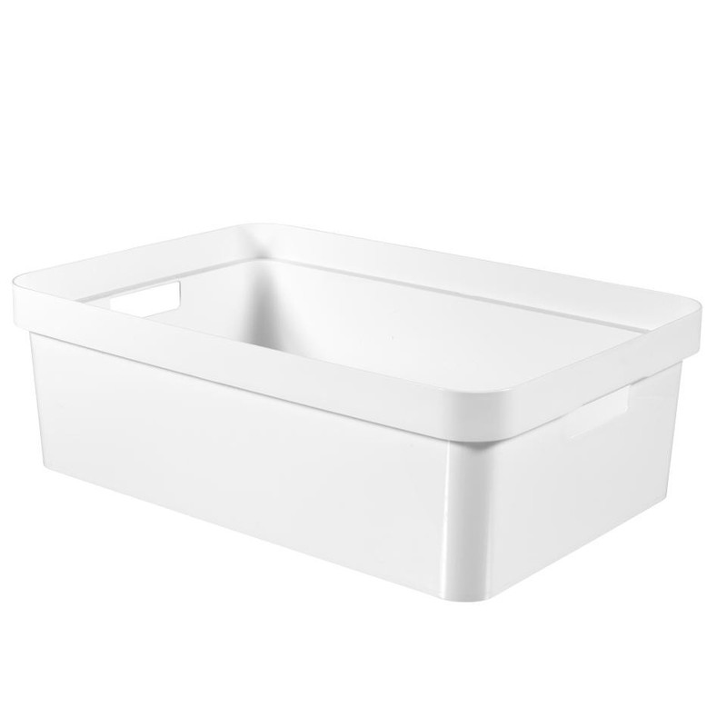 Curver Infinity box - 30 liter - wit