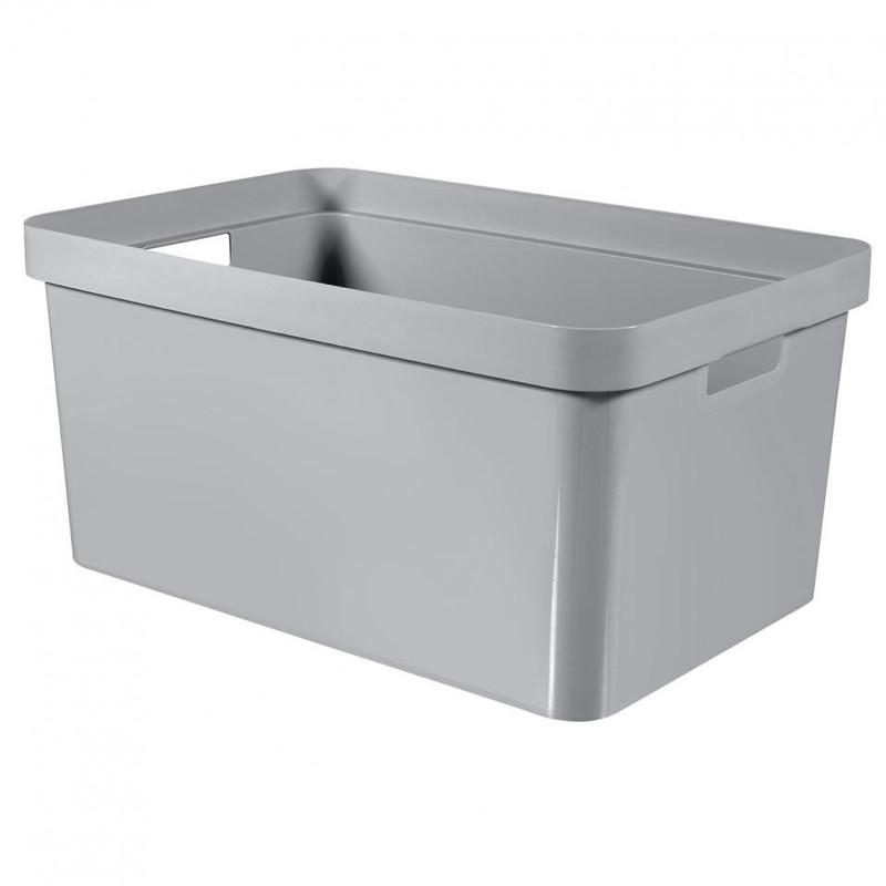 Curver Infinity box - 45 liter - lichtgrijs