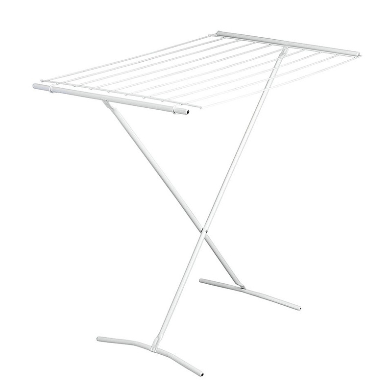 Metaltex droogrek Como - 8 meter - wit