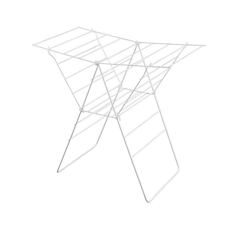Metaltex droogrek Lione opvouwbaar - 17 meter - wit