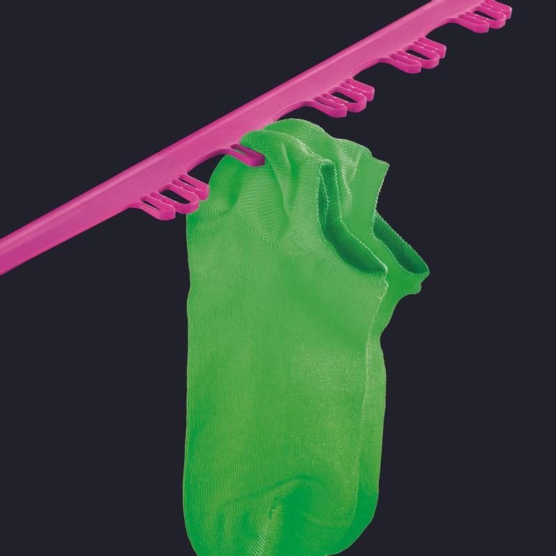 Metaltex droogrek fuji - 20 meter - roze