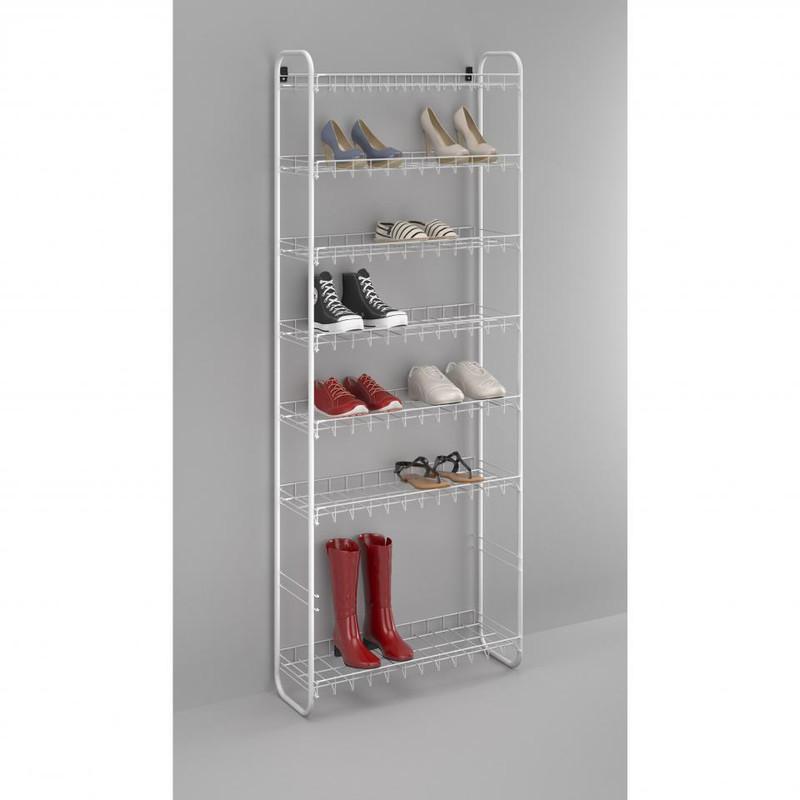 Metaltex - Shoe 8 schoenenrek - 24 paar schoenen - wit