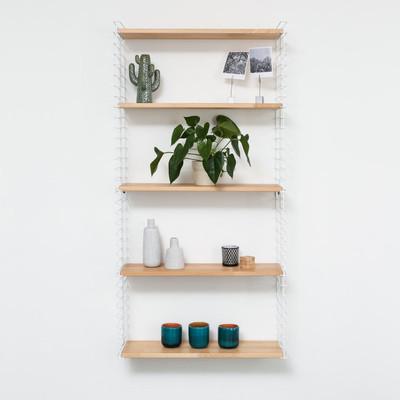 Tomado boekenrek 3 verdiepingen - wit
