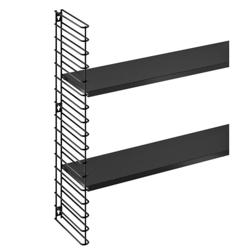 Tomado - Boekenrekuitbreiding - zwart frame + planken