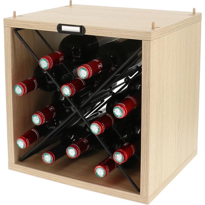 Stapelbaar Wijnrek Hout
